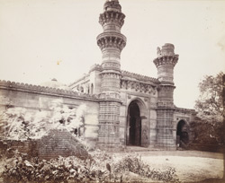 General view of Bibi Achut Kuki's Mosque, Ahmadabad
